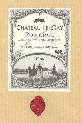 Château Le Gay 1985