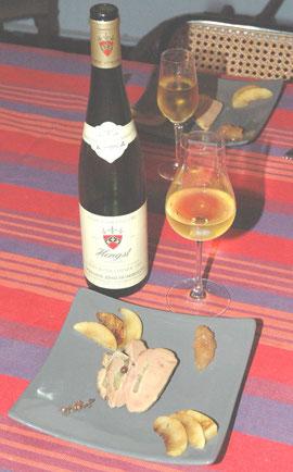 Hengst 1993 et Pressé de foie gras