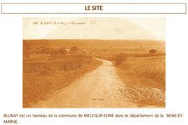 Site du futur coteau de vigne