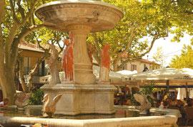 La fontaine de Maussane