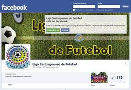 Página da Liga no Facebook