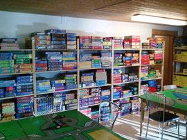 Räume der Spieliothek Quickborn