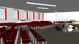 La future salle de conférence