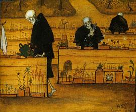 Gemälde von Hugo Simberg (FIN)