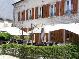 L'Auberge du Prieuré, restaurant gastronomique à Lassay-sur-Croisne, proche Romorantin, Sologne, Loir-et-Cher, Châteaux de la Loire