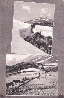 910-001 Werbekarte Alioth, gelaufen 20.7.1910