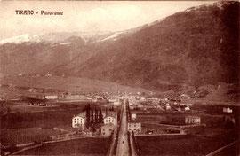 585-001 Verlag G. Bonazzi, Tirano. Karte gelaufen 10.7.1914 (und bereits am 12.7. in Antwerpen angekommen, erstaunlich)