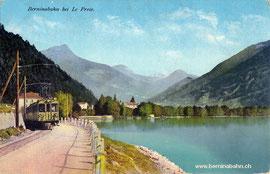 520-006 Verlag Engadin Press Co. Samaden & St. Moritz. Karte ungelaufen
