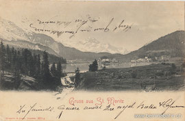 101-006 Verlag: Römmler und Jonas, Dresden. Karte gelaufen 13.7.1903