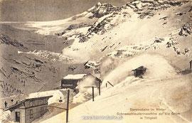Verlag: Engadin Press, Samaden. Karte gelaufen am 26.1.1914
