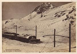 Eigen-Verlag der Berninabahn  Karte ungelaufen, vermutlich aus den 30er-Jahren (Hinweis auf Salon- und Speisewagen auf der Rückseite)