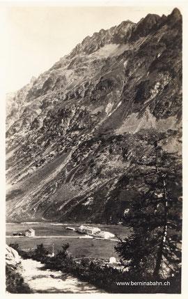 241-023 Verlag Engadin Press Co., Samaden u. St. Moritz. Karte ungelaufen