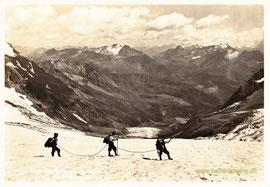 395-001 Verlag Photo Albert Steiner, St. Moritz. Karte gelaufen ohne Datum