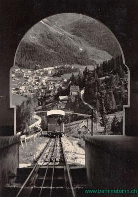 720-002 Spini & Bui Photo u. Verlag St. Moritz, Karte ungelaufen