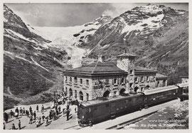 360-004 Photo & Verlag Albert Steiner, St. Moritz. Karte gelaufen am 27.6.1956
