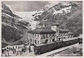 360-004 Photo & Verlag Albert Steiner, St. Moritz. Karte (erst) gelaufen am 27.6.1956