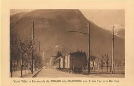 Verlag Fiorentini & Co, Tirano. Karte ungelaufen.