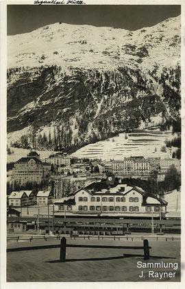 200-006 Verlag Photoglob Wehrli. Karte gelaufen 1933
