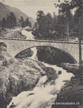 """218-001 Aus: """"Bernina-Zauber"""" von Ilse Spiller. Eigenverlag Berninabahn"""