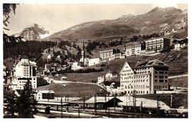 105-001 Verlag Engadin Press, Samaden. Karte gelaufen 15.8.1925 (*)