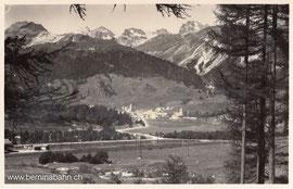 130-004 Verlag: Verlag und Photo G. Sommer, Samedan. Karte gelaufen am 4.7.1944