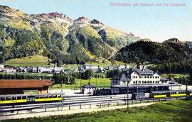 200-008 Verlag Bazar Flury, Pontresina. Karte gelaufen 21.5.1914
