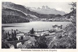 105-012 Eigenwerlag Volksheim, Photo A. Steiner. Karte ungelaugen