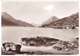 301-004 Verlag Foto Max, Max Wagner, St. Moritz. Karte gelaufen am 26. Juni 1956