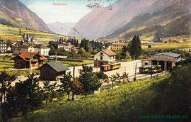 500-005 Verlag Carl Künzli-Tobler, Zürich. Karte gelaufen am 19.7.1910
