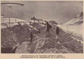"""270-004 Bild in der """"Schweizer Familie"""" Ausgabe vom 19. März 1909 Foto: A. Krenn, Zürich"""