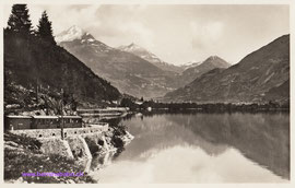 520-005 Verlag Engadin Press Co. Samaden & St. Moritz. Karte gelaufen am 11.7.1941