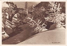 Photo & Verlag Albert Steiner, St. Moritz. Karte gelaufen 16.2.1929