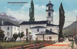 515-001 Verlag Engadin Press, Samedan. Gelaufen am 5. Mai 1928
