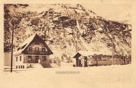 Verlag: Pension Restaurant Cavaglia. Gelaufen 25. Juni 1929