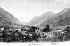 500-002 Verlag Edit. Sidney Semadeni, Karte gelaufen 8.9.1909