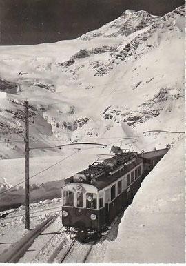 Verlag Otto Furter, Davos. Karte gelaufen 15.3.1953
