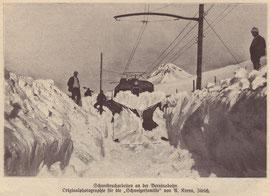 """Foto: A. Krenn, Zürich für die """"Schweizer Familie"""", Ausgabe vom 19. März 1909"""