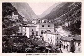 Edizioni Fiorentini & Redaelli, Tirano. Karte gelaufen 1914 (undeutlich)