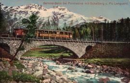 Verlag Carl Künzli-Tobler, Zürich. Karte gelaufen 21.7.1911