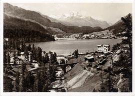 Photo & Verlag O. Rutz, St. Moritz. Karte ungelaufen