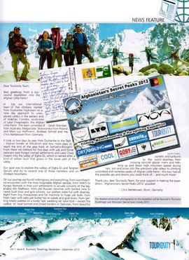 TOURIOSITY TRAVEL MAGAZINE Nov-Dec 2012