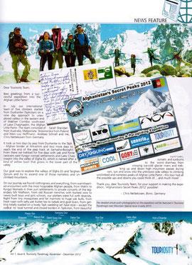 TOURIOSITY TRAVEL MAGAZINE Nov-Dec 2012