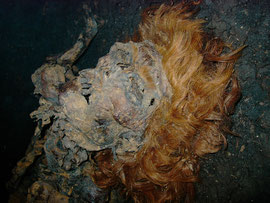 Moorleiche im Landesmuseum für Natur und Mensch Oldenburg