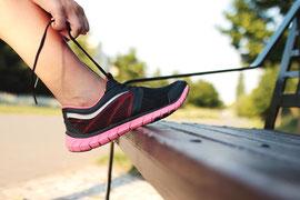 Joggen um Kalorien zu verbrennen