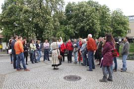 Die Kremser Guides führen ihre Gäste jeden Freitag zu den schönsten Plätzen der Altstadt. Foto: Stadt Krems.