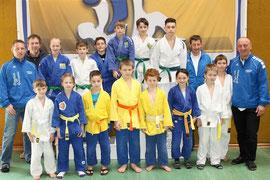 Erfolgreiche Judoka des Judoklub Krems. Foto: zVg