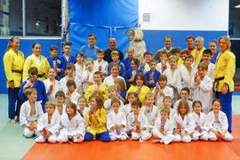 Der Nikolaus zu Besuch beim Judoklub Krems. Foto: zVg