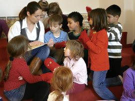 Die Stadtbücherei & Mediathek feiert den Andersentag mit einer Lesung für Kinder. Foto: Stadt Krems.