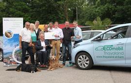 Arbeiten an einem Strang für umwelt- und klimafreundliche Mobilität. Foto: Stadt Krems