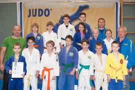 Sportler des Judoklub Krems ( U10, U12, U14 ). Foto: zVg.